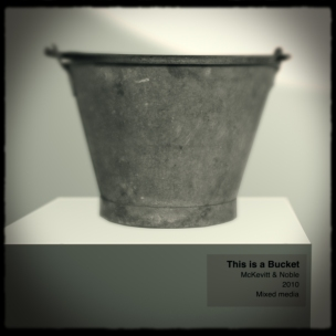 This is a bucket - With Donna McKevitt