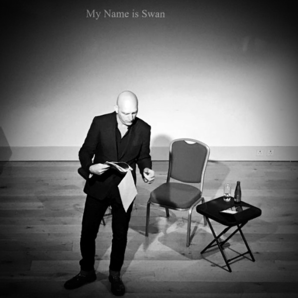 My Name Is Swan at the Riverside Arts Centre (on the evening before Royal Swan Upping!)
